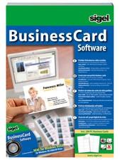 """sigel BusinessCard Software """"Deutsch"""", für Visitenkarten"""