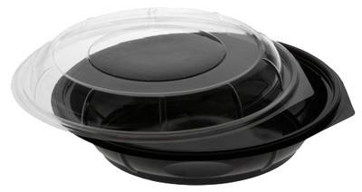 PAPSTAR Salatschale rund, mit Deckel, 800 ml