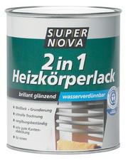 SUPER NOVA Heizkörperlack 2in1, weiß, 750 ml