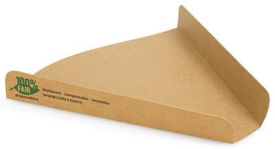 "PAPSTAR Pizza-Tray ""pure"", Maße: 180 x 170 x 25 mm"