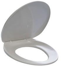 DURABLE Toilettensitz, aus Kunststoff, weiß