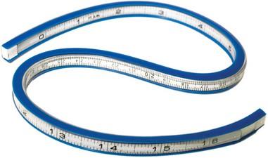 """WESTCOTT Flexibles Kurvenlineal, Länge: 400 mm (16"""")"""