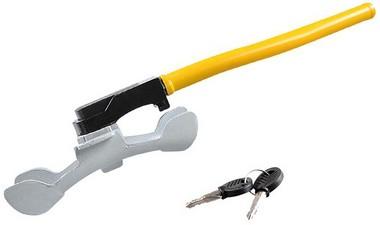 IWH KFZ-Lenkradkralle, mit 2 Schlüsseln