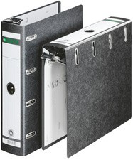 LEITZ Hänge-Doppelordner, 2 x DIN A5 quer, 75 mm, schwarz