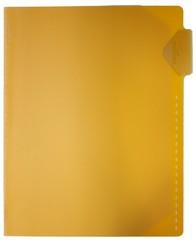DURABLE Karteikarten-Tasche, DIN A4, mit Rastlochung, gelb