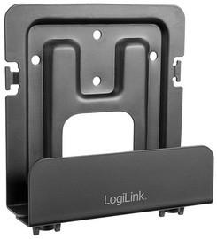 LogiLink Universal-Wandhalterung, Tragkraft: 1 kg, schwarz