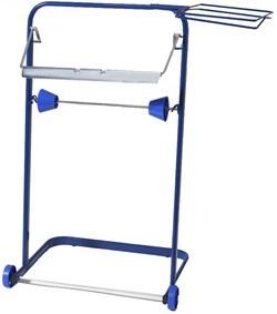 Fripa Putzrollen-Standgerät, aus Metall, blau